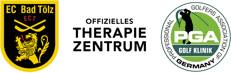 Logo EC Bad Tölz & PGA Golf Klinik - Therapiezentrum